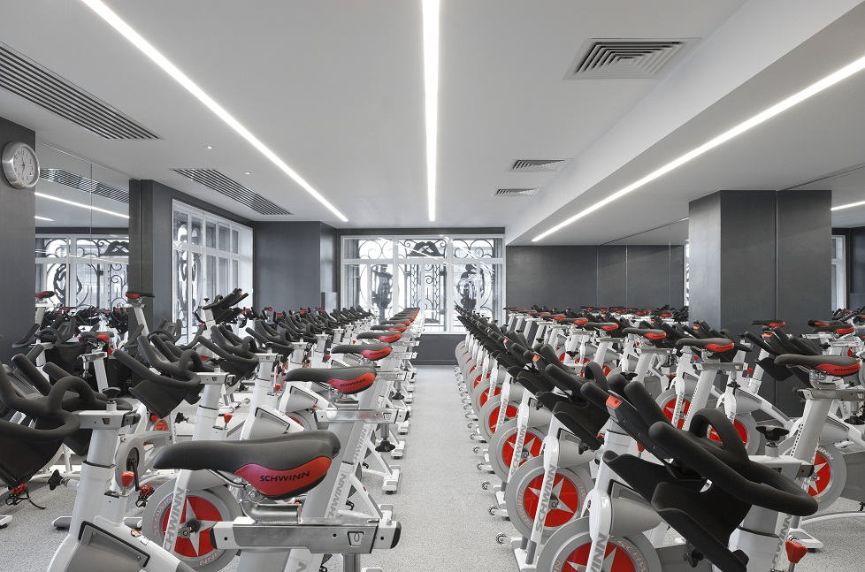 cycling studio equinox gym London