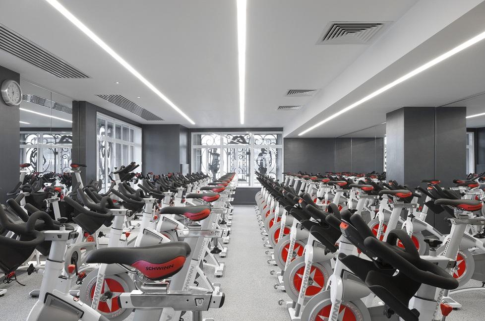 spinning studio equinox gym london