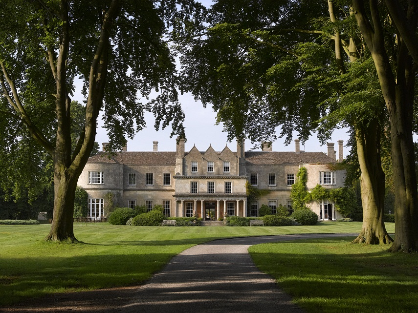 Luckham Park luxury hotel near Bath: my very own Palladian mansion for a night
