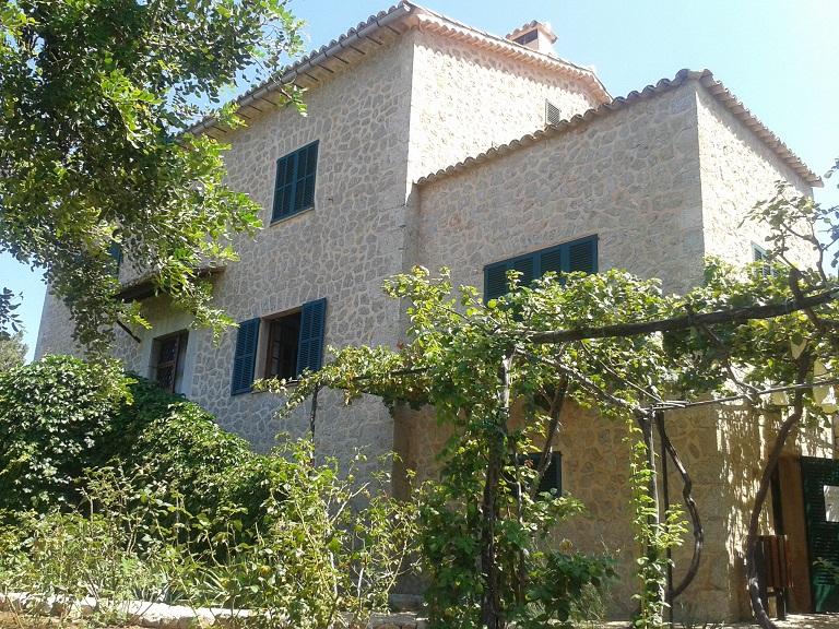 Robert Graves' home in Deia, Canellun