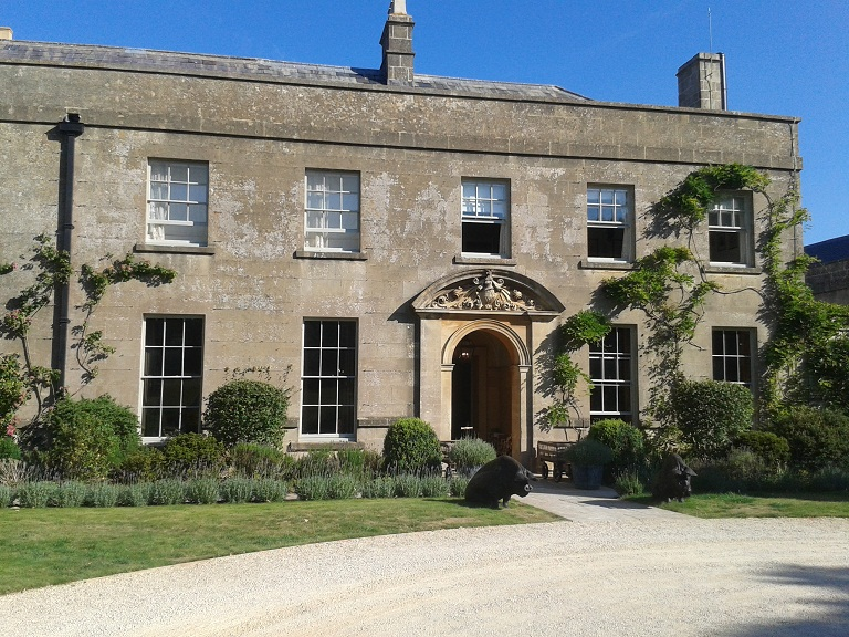 The Pig near Bath is in a 200-year old, Grade II listed property
