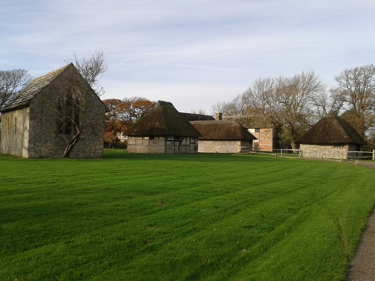 Several buildings make up the Bailiffscourt experience, including a chapel and suites away from the main building