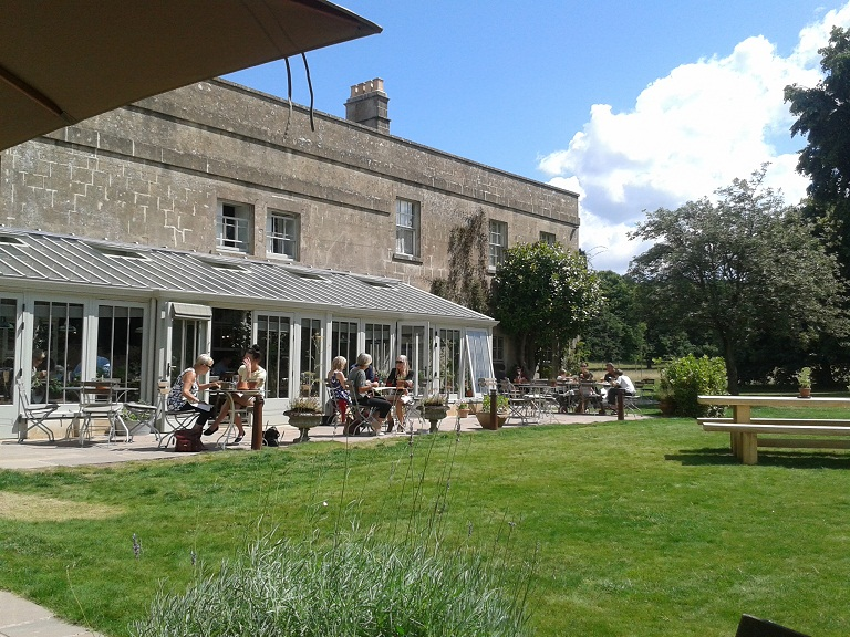 The Pig near Bath is in beautiful grounds