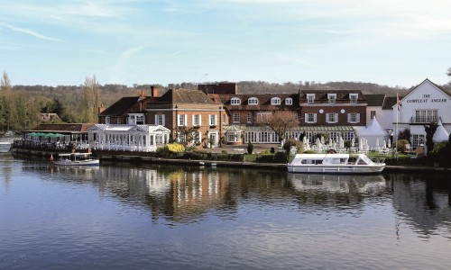 My stay at the Compleat Angler Marlow: location, location, location