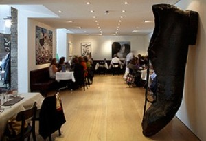 saatchi gallery restaurant gallery mess