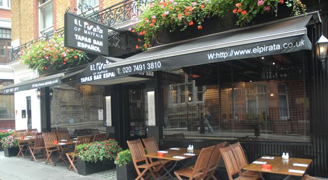 El Pirata Mayfair: the friendliest tapas in this part of London