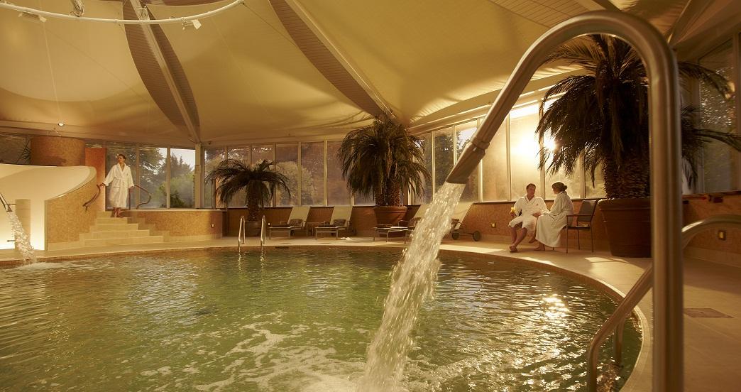 spa pool Vineyard hotel