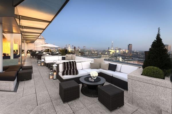 rooftop bar ME London