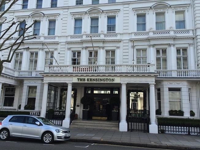 kensington hotel london exterior