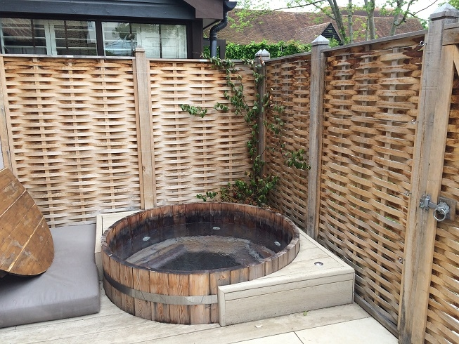 Coffee Maker Hot Tub : Sopwell House - a stay in my very own VIP courtyard
