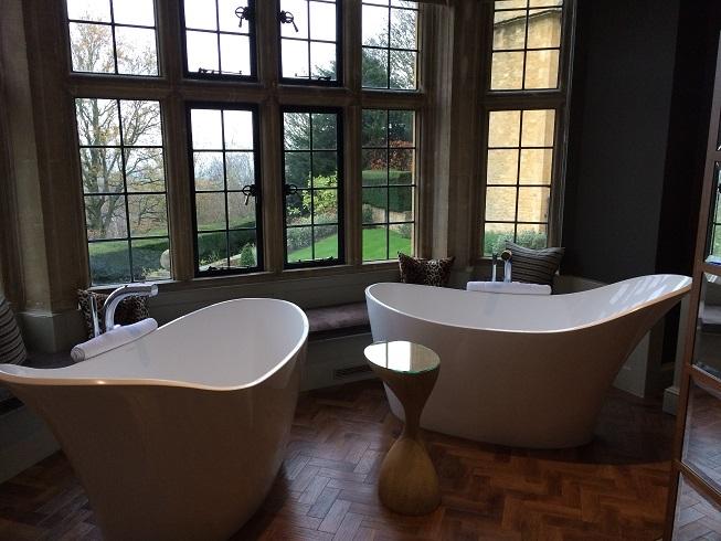 two baths