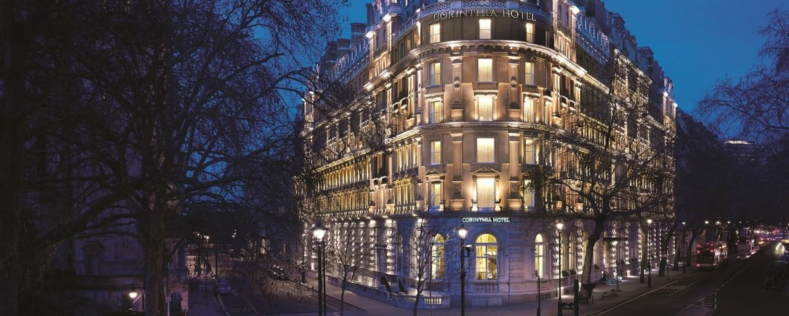 A relaxing spa break at Corinthia London luxury hotel