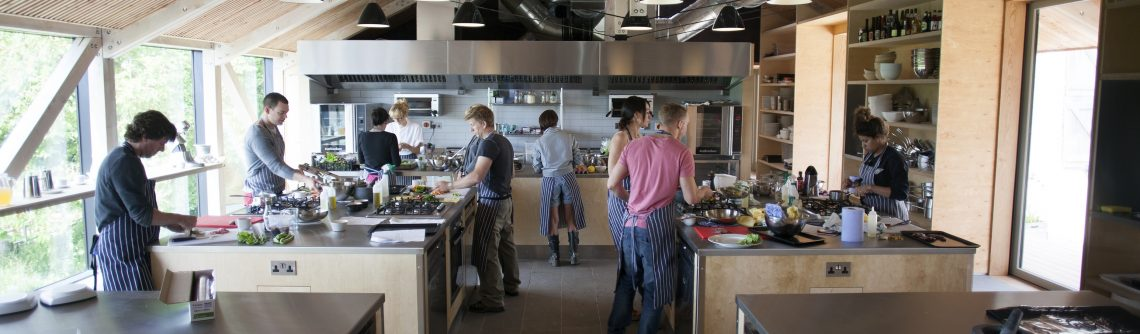 It's a day of tasty foodie firsts at the River Cottage cookery school