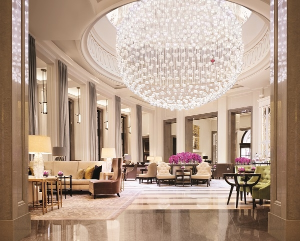 inside the five star Corinthia Hotel London