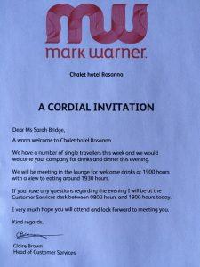 Mark Warner ski holiday