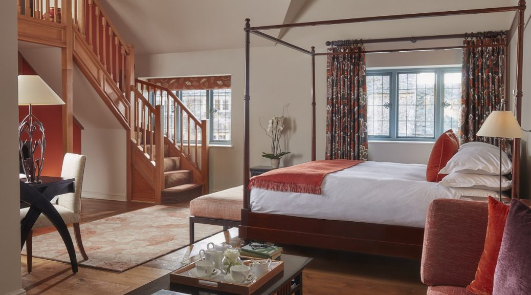 The newly refurbished suite 17 at Whatley Manor