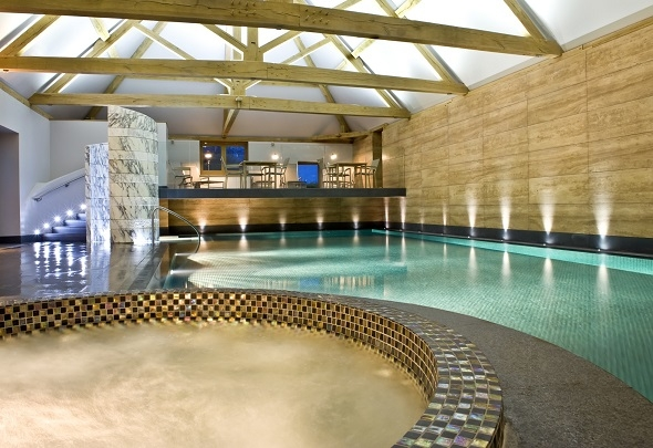 indoor swimming pool Park House hotel and spa