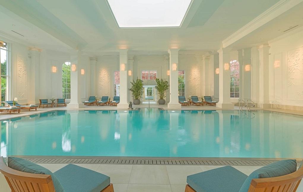Chewton Glen indoor pool