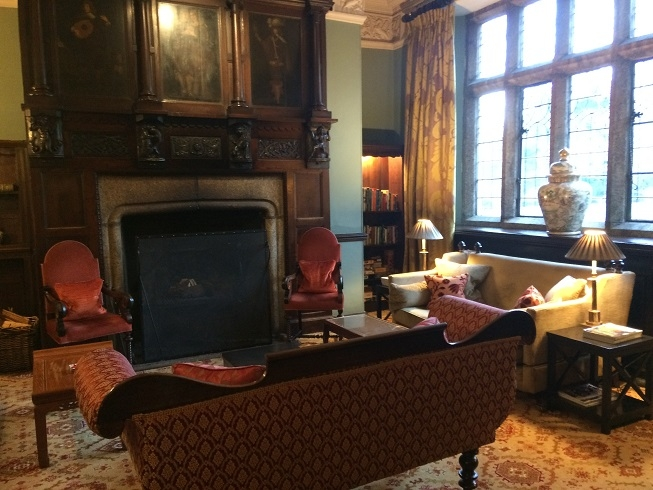 luxury hotel devon Lewtrenchard Manor