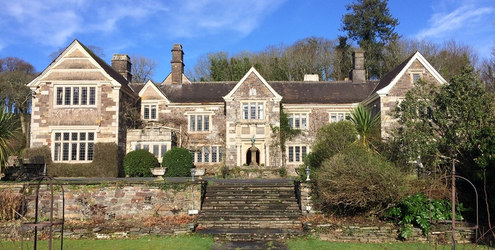 Make yourself at home at the grand but friendly Lewtrenchard Manor, Devon