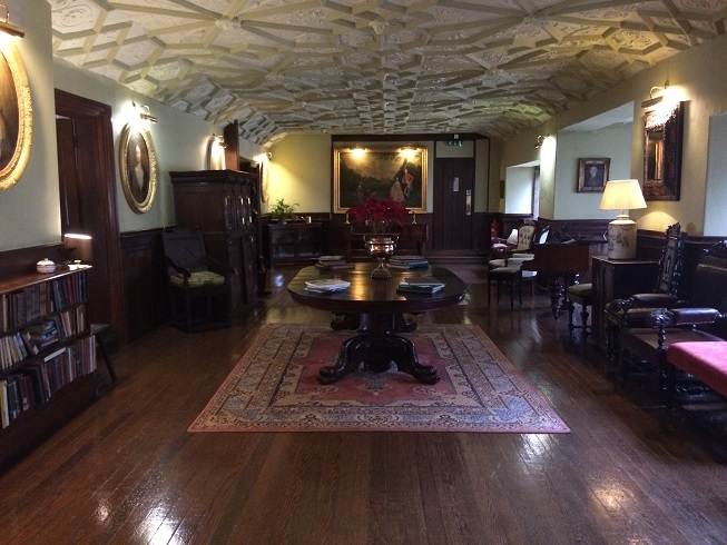 luxury hotel devon Lewtrenchard Manor