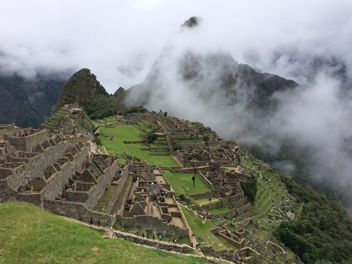 trekking the inca trail to machu picchu