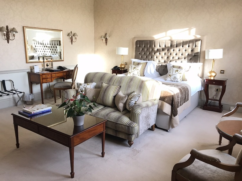 A charming luxury stay in Brockencote Hall hotel Worcestershire