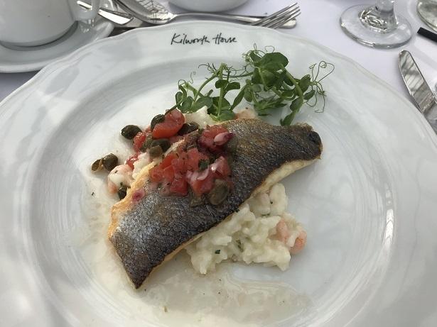fillet of sea bass