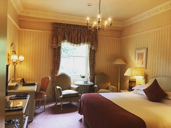 Bedroom at Kilworth House hotel