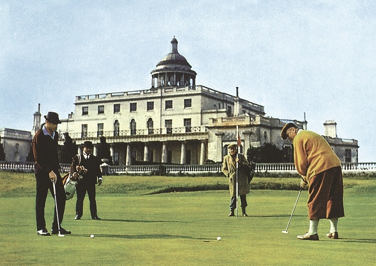 stay at Stoke Park luxury hotel golf course