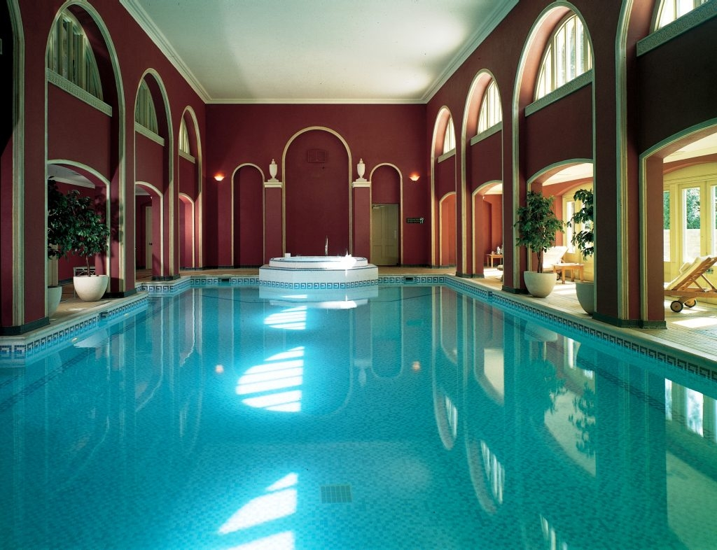 swimming pool at Hartwell House