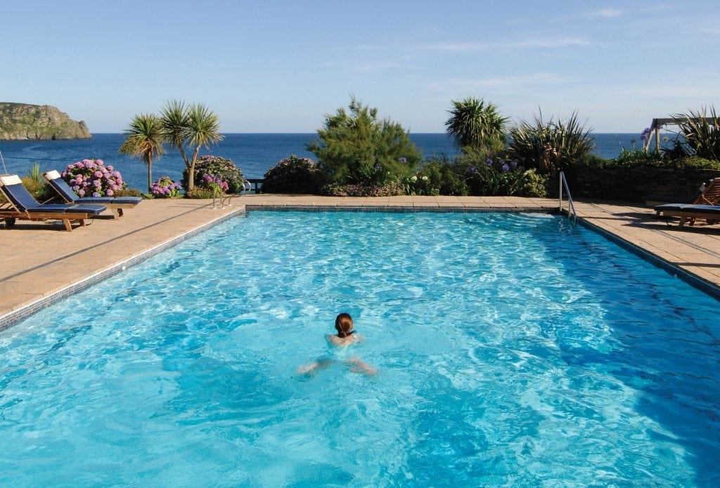 The Good Hotel Guide's ten luxury hotels with swimming pools