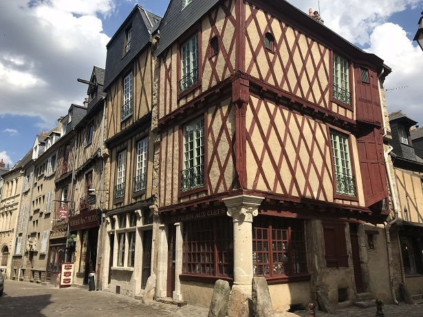 historic old town of Le Mans