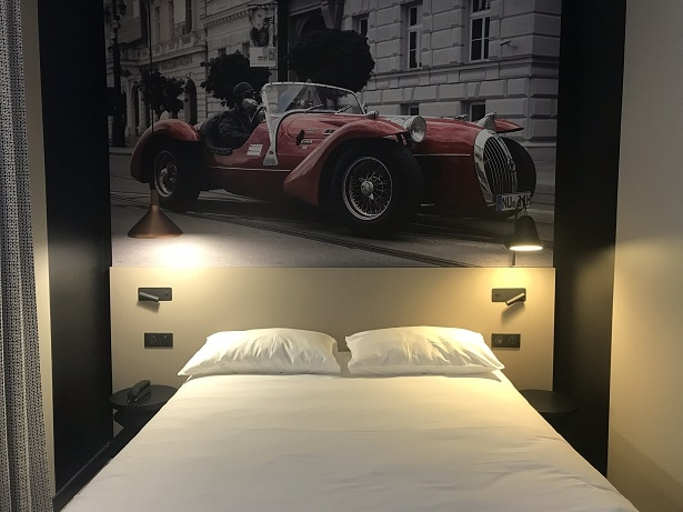 Bedroom in Ibis Gare de Nord Le Mans