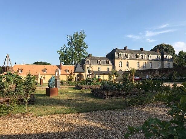 The chateau at La Groirie