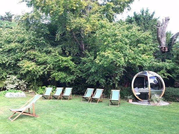The Eastbury hotel garden