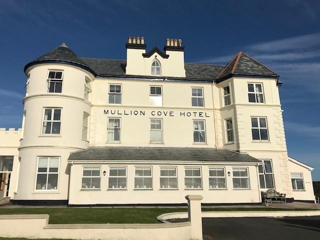 Cornish spa delight at Mullion Cove hotel in Cornwall
