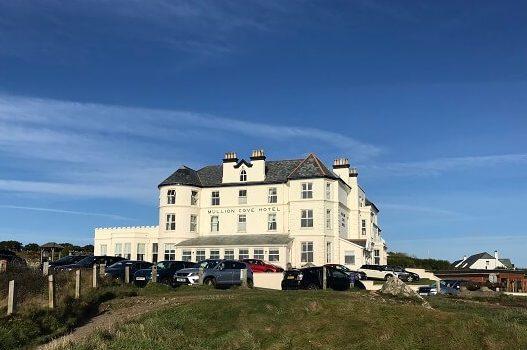 Mullion Cove hotel in Cornwall