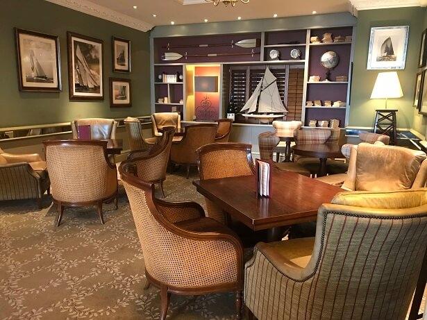 Thurlestone hotel lounge