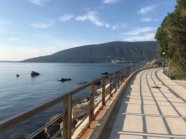 promenade at Herceg Novi