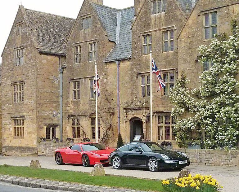 Luxury in the Cotswolds at The Lygon Arms hotel, Broadway
