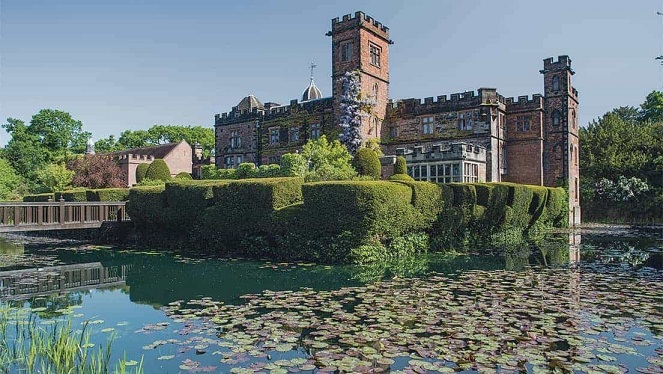 New Hall hotel and spa in Birmingham – luxury rooms and a moat
