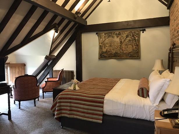 Naomi bedroom at South Lodge hotel and spa