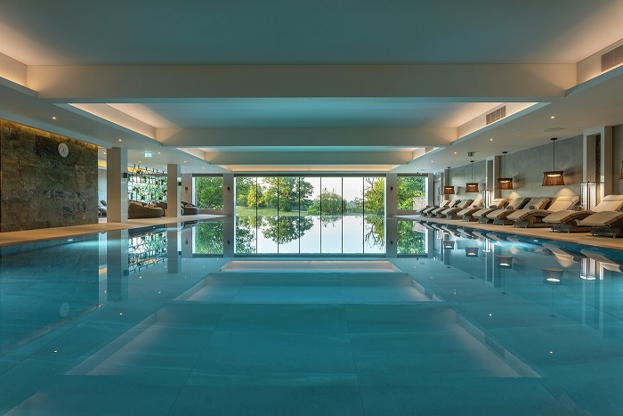 indoor pool at South Lodge hotel and spa