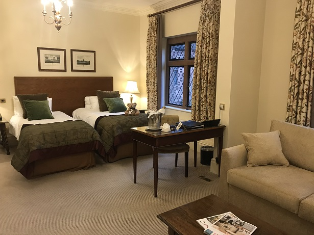 New Hall hotel bedroom