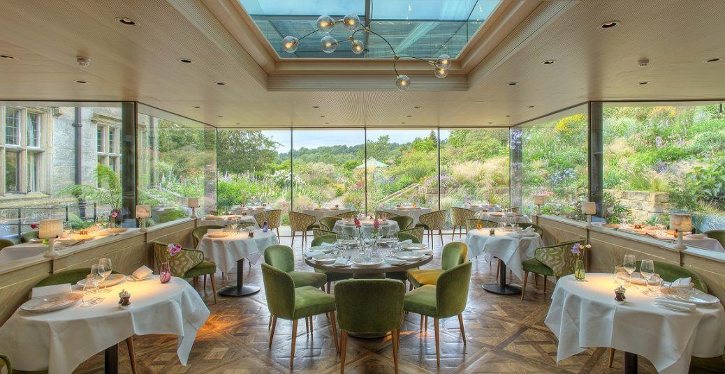 new restaurant at Gravetye Manor