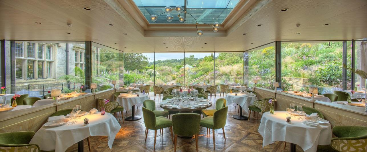 new restaurant at Gravetye Manor hotels with Michelin star restaurants