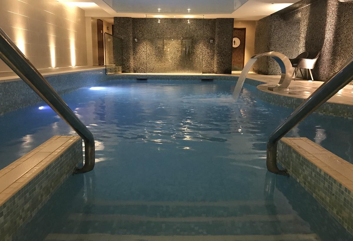 review headland hotel newquay cornwall indoor spa pool