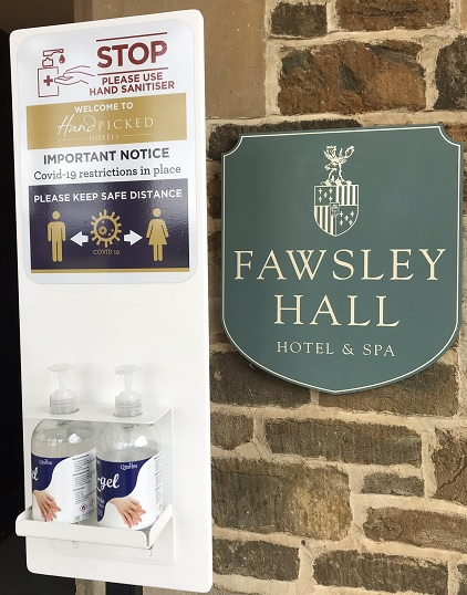 anti-bac at Fawlsey Hall