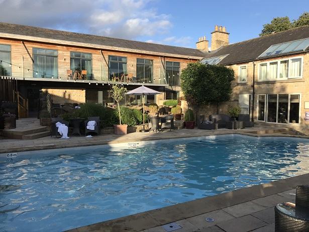 Feversham Arms swimming pool